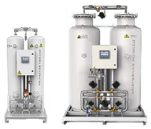 Oxygen nitrogen hydrogen generators - Praxeidos